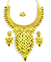traditional design traditional design golden plated necklace set african boutique