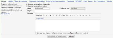message d absence de bureau rédiger un e mail d absence avant départ en vacances regionsjob