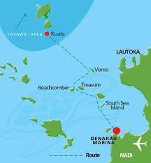 Fiji Islands Map Ultimate Encounters Snorkel With Sharks South Sea Cruises