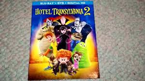 hotel transylvania 2 blu ray dvd combo pack unboxing