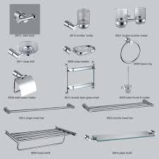 Bathroom Accessories Aliexpresscom Buy Modern Clear Crystal Bathroom Accessories Realie