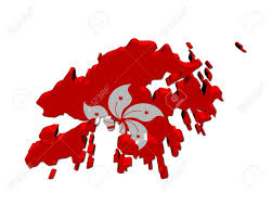 Black And Red Flag Country Hong Kong Clipart Hong Kong Flag Pencil And In Color Hong Kong