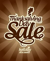 thanksgiving day sale vector free vector graphic
