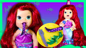 baby alive custom ariel mermaid eats ursala tenticles