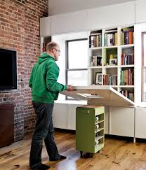Small Hideaway Desk Space Saving Hideaway Desks For Small Apartment Designs