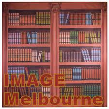 Bookcase Backdrop Title