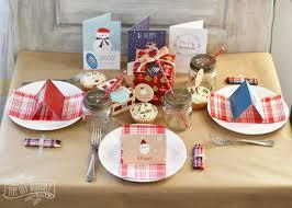 Christmas Table Settings Ideas A Fun Kids Christmas Table Setting Idea Win A Holiday Party