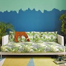 Green Striped Wallpaper Living Room Living Room Colour Schemes