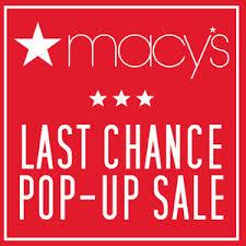 macy s last chance pop up sale blackfriday
