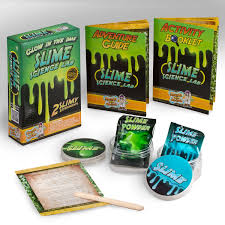 amazon com glow in the dark slime science kit u2013 a classic diy