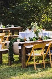 Rustic Backyard Cozette And Chad U0027s Oklahoma Ranch Wedding