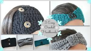 crochet headband 3 diy easy awesome crochet headbands ms craft
