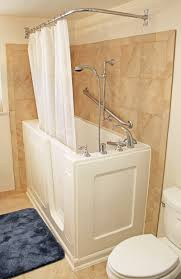 Bathtub Curtains Bathtubs Idea Interesting Walk In Bathtubs With Shower Glamorous