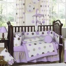 Lavender And Grey Crib Bedding White Eyelet Crib Bedding