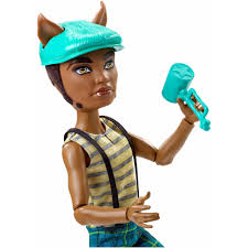 Monster High Halloween Wolf Doll by Monster High Storytelling Scarnival Clawdeen Walmart Com
