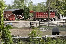 Barn Demolition Search For Jimmy Hoffa U0027s Remains Continues In Small Michigan Town