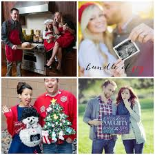 pregnancy announcements christmas pregnant and birth