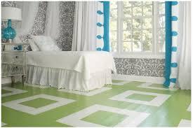 rooms painted wood floors vs durability
