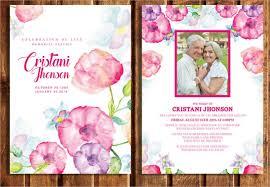funeral invitation template free funeral invitation cards paperinvite