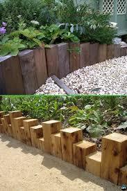 best 25 wood edging ideas on pinterest sleepers garden railway