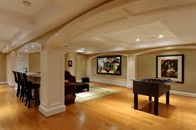 floor jazz up your seattle basement flooring with entertainment