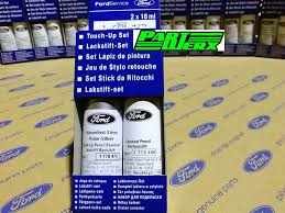 genuine ford moondust silver polar silber touch up paint stick