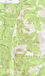 colorado river map topographic map of the la poudre pass trail rocky mountain