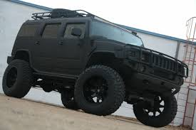 jeep hummer conversion 2008 hummer h2 kevlar black with fabtech lift pdm conversions
