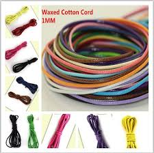 string cord bracelet images 80meters 1mm multi colors waxed cotton cord string for bracelet jpg
