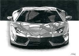 lamborghini aventador lp 700 drawing super car by