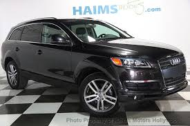 audi suv 2009 2009 used audi q7 quattro 4dr 3 6l at haims motors serving fort