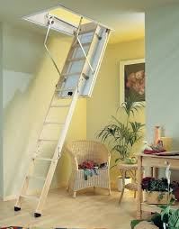 pull down pole for attic stairs precision ladders automatic