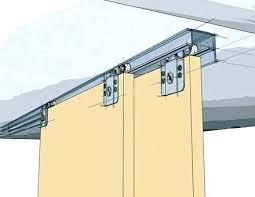Home Depot Sliding Closet Door Track Closet Door Track Enchanting Closet Door Track System That Eye