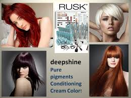 rusk ponytail method pictures rusk deepshine cream color pure pigment conditioning hair color