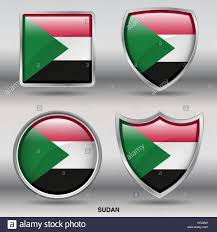 Old Sudan Flag Sudan Stock Vector Images Alamy