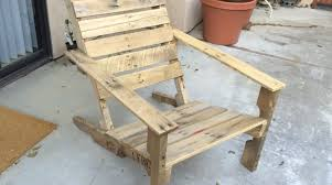 How To Make Pallet Patio Furniture by Wooden Pallet Patio Chairs Make