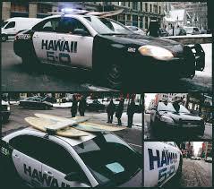 ad police outdoor ad series hawaii 5 0 police car