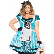 halloween costumes plus size looking glass alice in wonderland plus size halloween costume