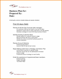 coachingresume day 90 day business plan template plan examples