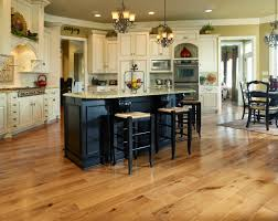 Black Distressed Kitchen Island by Hardwood Flooring In Kitchen Black Kitchen Island Matching Bar