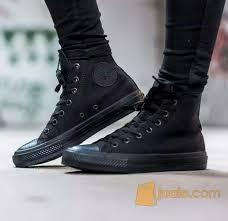 Sepatu Converse Black sepatu converse ct as ii mono black original jakarta barat jualo
