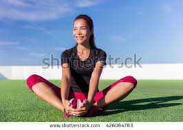 fitness butterfly stock photo