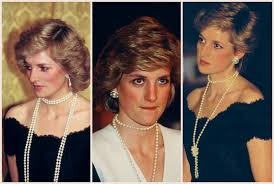 pearl necklace styles images Lady diana 39 s styles dk pearla jpg