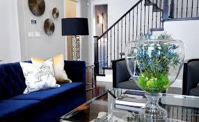 livingroom accessories navy blue living room