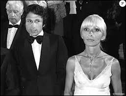 drucker mariage michel drucker et dany saval au festival de cannes en 1976