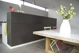 office de cuisine meuble de cuisine en valchromat gris ciment decor cozinhas