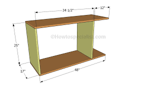 office desk plans howtospecialist how to build step by step