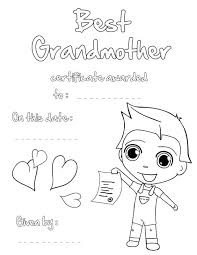 happy birthday cards coloring sheets grandparents day pages