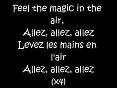 Magic System Meme Pas Fatigue - paroles meme pas fatigue magic system tribute youtube france