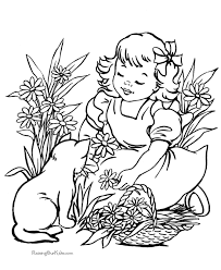 cat coloring pages free printable